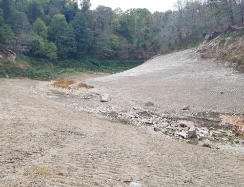Effacement du barrage du CHAT-CROS à Evaux Les Bains. ( 23)Valorisation et végétalisation du site de l'ancienne retenue
